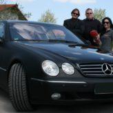 Deutschlands berühmtester Bodyguard und Personenschützer, Peter Althof, lässt seinen Mercedes CL500 bei Bavaria Carstyling perfekt folieren