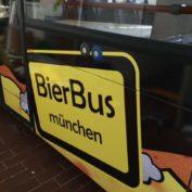 Bierbus – Werbebeschriftung für die etwas andere Stadtrundfahrt