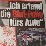 """""""Ich erfand die Blut-Folie fürs Auto"""""""